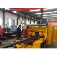 C And C Plasma Cutter H Beam Production Line With Hypertherm Plasma Generator
