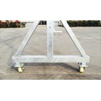 Motor Power 1.8kw  630kg Suspended Work Platforms Aluminum With 8.3 mm Steel Wire