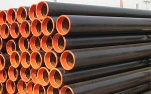 China Seamless Steel Tube, Fluid Conveying Pipe 57mm - 426mm OD on sale
