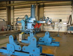China Circumferential Seam Welding Manipulator 3 x 5m Longitudinal With Traveling System on sale