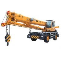 High Power Rough terrain mobile crane lifting RT25  With QSB6.7- C190 Engine