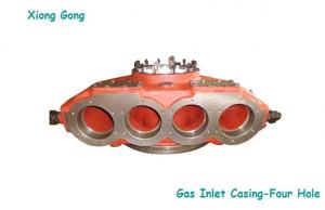 China Ship Diesel Engine Turbo Housing ABB VTR Series Gas Inlet Casing Four Hole on sale