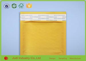 China Custom Printed Logo Gold / Black Bubble Padded Envelopes For Storing / Shipping on sale