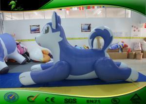 China Personagens de banda desenhada infláveis bonitos, cão ronco inflável das crianças para o campo de jogos on sale