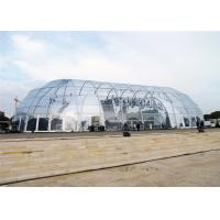 Modular Frame Polygon Party Ceremony Tent 18m * 25m Canopy European Design