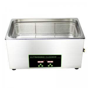 China Digital 600W 40khz RoHS Ultrasonic Cleaner Benchtop Ultrasonic Cleaning Machine on sale