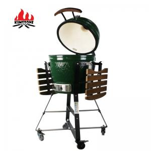 China Kimstone Kamado Style ceramic bbq grill 18 inch commercial ceramic bbq grill on sale