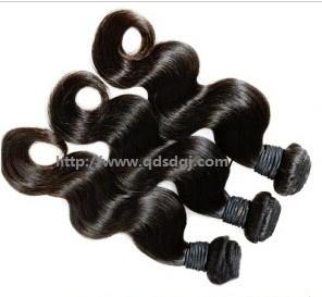 China Hot Sale 26inch 100g Per Piece 6A Grade Body Wave Peruvian Human Hair Weave on sale