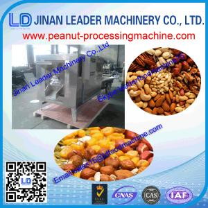 China Stainless steel gas heating gas baking peanut roasting roaster machine on sale