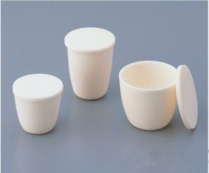 China high erosion resistant high alumina contains corundum crucible on sale