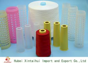 China 30s/3 Ring Spun Polyester Yarn For Sewing / Knitting On Paper Or Plastic Cone on sale