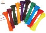 Colorful Outdoor Camping Tools Nylon Cable Tie Easy To Handle And Locks