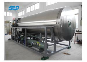 China SED-20DG 200 Kgs Per Batch Fruit Vacuum Freeze Dry Machine Production Type Lyophilization Equipment on sale