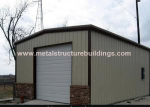 China Fireproof Steel Pre Engineered Buildings , Heavy Warehouse Steel Structure on sale