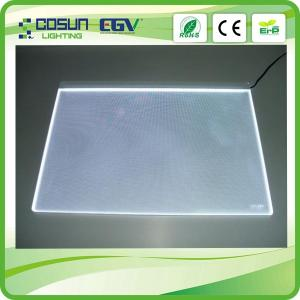 China Customized Laser Engraving LED Lighting Panels For Indoor Display , UV-Resistant on sale
