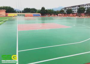 China Flooring paint - water based anti skid basketball / tennis sport court floor on sale