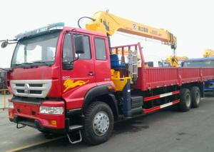 China 26 MPA XCMG Sinotruk 10 Ton telescopic boom truck crane SQ10SK3Q on sale