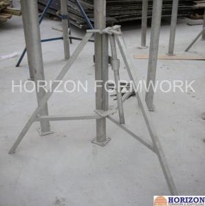 China Slab Concrete Forming Adjustable Construction Props , Flexible Foldable Shoring Prop on sale