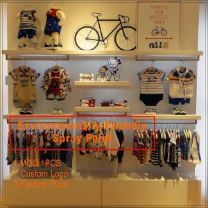 a568b0ad2f High End baby shop garment display rack   kids shoes display rack  cheap  glass