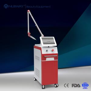 China Long pulsed nd yag laser hair removal machines / laser varicose vein removal for sale on sale