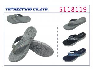 China Summer Outdoor PVC Fabric Sports Flip Flop Shoes For Man on sale