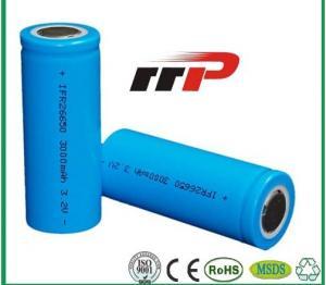 China Solar Lamp Long Life LiFePo4 Battery supplier