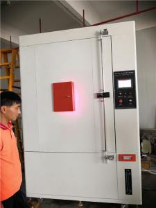 China Xenon Lamp Environmental Test Chamber , Weatherproof Test Chamber For Fire Safety Helmet on sale
