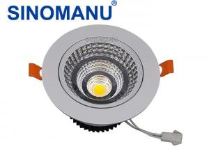 China High CRI LED Recessed Downlights Energy Saving 4000K Color Temperature on sale