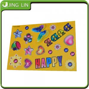 China Animal stickers,Cute 3D Cartoon Sticker for Kids on sale