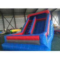 Rainbow Anti Flaming Commercial Grade Inflatable Slide Lower Noise With Repair Kits