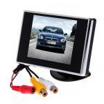 mini tela de monitor do LCD do carro de 3,5 polegadas para a câmera do reverso do carro