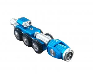 China Pan And Tilt Sewer Pipe Inspection Crawler Camera Adjustable Light Brightness For Small Pipe on sale