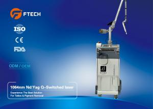 China Chloasma Removal Q Switched ND YAG Laser Machine 2-10mm Adjustable Spot Size on sale
