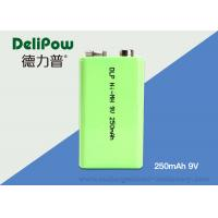 1.0V~9V NIMH Industrial Rechargeable Battery 250mAh With 3 Years Cycle Life