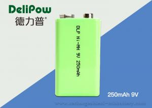 China 1.0V~9V NIMH Industrial Rechargeable Battery 250mAh With 3 Years Cycle Life on sale