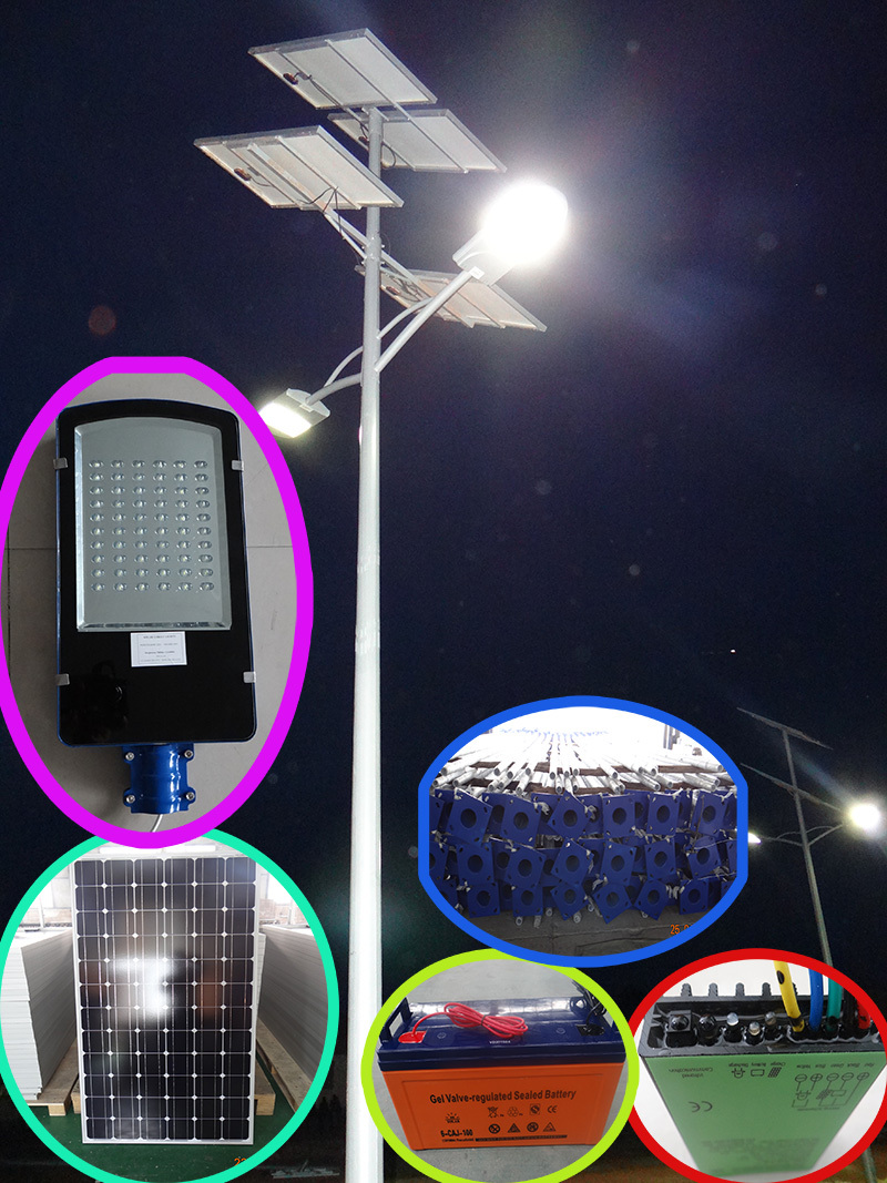 Applied in More than 50 Countries 5 years Warranty Products CE ROHS IEC Certificated 60w led Solar Street Light