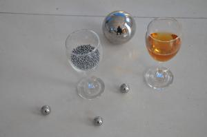 China 5/32 Large Precision Steel Balls , Custom Stainless Steel Solid Ball on sale