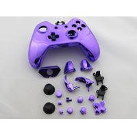 Full Mirror Chrome Housing Shell Case Replacement for XBOX ONE XB1 Wireless Controller - Purple