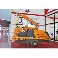 China PLC Control Wet Shotcrete Machine , Concrete Spraying MachineRobot 4 Telescopic Boom on sale