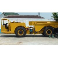 China 20 Ton Underground Mining Dump Truck Adopts 2-stage Combustion Low-pollution Water-cooled Engine on sale