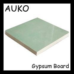 China Best Quality Reinforced Fiberglass Waterproof Plasterboard / Gypsum Board For Ceiling on sale