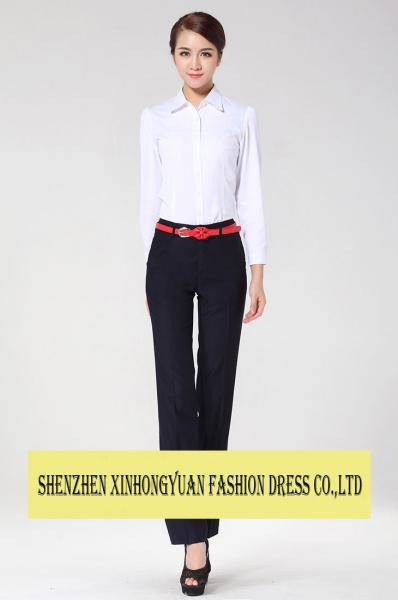 Anti Static Corporate Office Uniforms Formal Office Wear Clothes