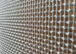 Stainless Steel Architectural Metal Screen For Facade Sunshade Partition Cladding