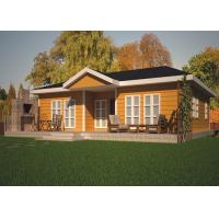 Leisure Small Green Prefabricated Cottage Modular Homes Modular Villa With Bathroom