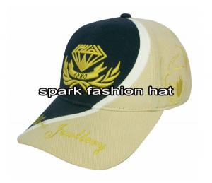 Quality Patchwork hat with high quality embroidery logos for sale