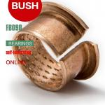 Diamond Oil Holes Wrapped Bushing, Bronze CuSn8P, DIN 1494 / ISO 3547, Low-maintenance