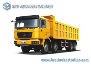 China 380hp / 420hp Heavy Duty Dump Truck Right  Hand Drive Shacman F2000 8x4 50 T on sale