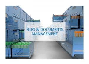China Longer Service Life RFID Solution For Documents Files Intelligent Management System on sale