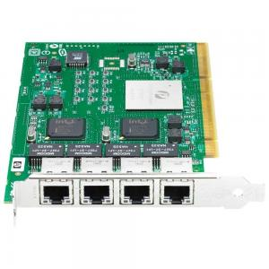 China 4 Ports Quad Port Gigabit Ethernet Adapter Card 1 Gbps Full Height Bracket on sale