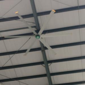 China 4s Car Workshop 6 Blade Large Industrial HVLS Ceiling Fan on sale